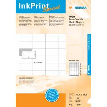Etiketten voor inkjetprinters