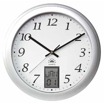 Klokken en thermometers